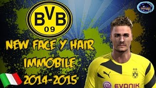 NEW FACE & HAIR IMMOBILE [PES 2013] [DOWNLOAD]