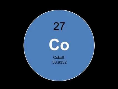 Element 27- Cobalt