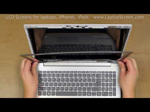 How To Replace Screen On Lenovo IdeaPad 320