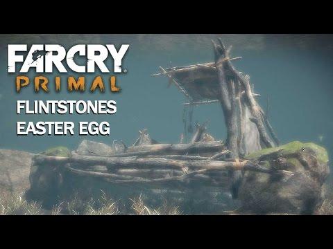 FARCRY PRIMAL: Flintstones Easter Egg Location