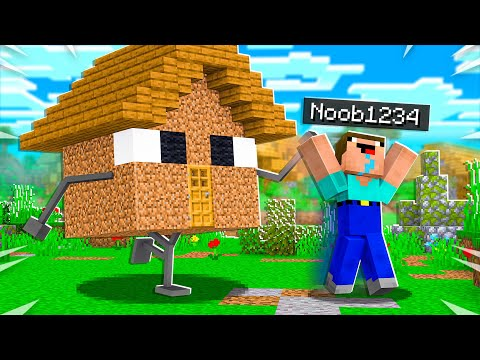 15 Ways to PRANK Noob1234's Minecraft House!
