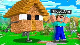 15 Ways to PRANK Noob1234's Minecraft House!