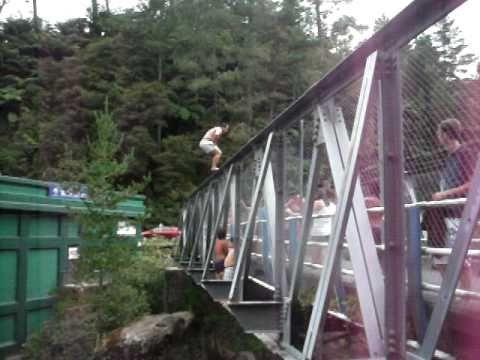 INSANE BACKFLIP - Mclarens Falls