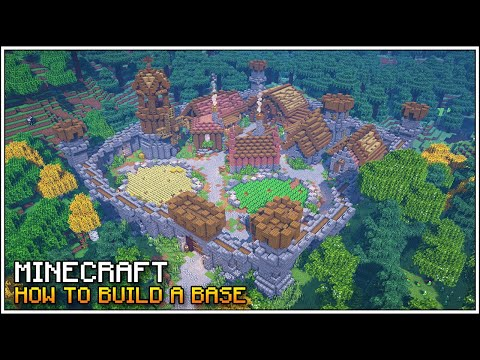 Minecraft: How to Build & Plan an Ultimate Base for Survival Minecraft!