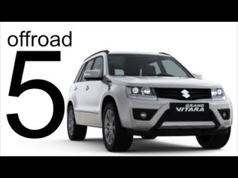 Suzuki Grand Vitara 4x4 Offroad Part 5