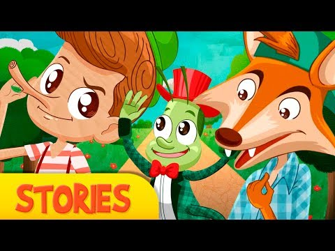 PINOCCHIO, story for children,  Fairy Tales and Stories for Kids, pinocchio kids story