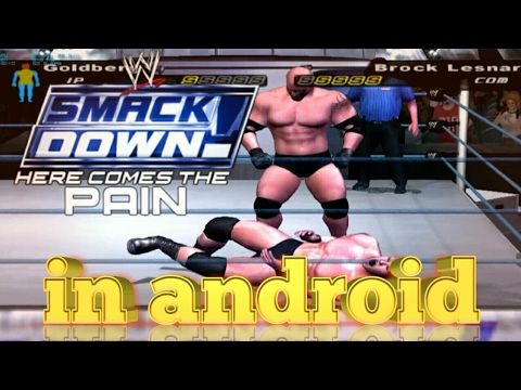 wwe smackdown here comes the pain psp iso download