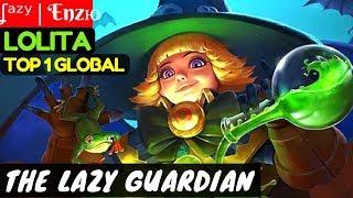 The Lazy Guardian [Top 1 Global Lolita]   ʆᵃᶻʸ   Enzю Lolita Gameplay Build #1 Mobile Legends