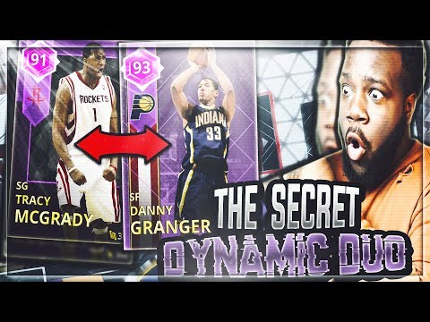 The Secret DYNAMIC DUO 2K Doesnt Want you To Know About! AMETHYST TRACY MCGRADY & DANNY GRANGER!
