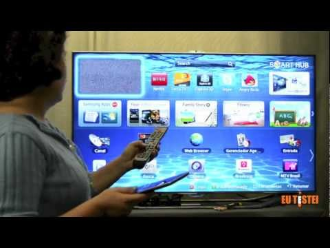 TV Samsung SmartTV 3D LED UN46ES8000 46