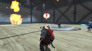 TF2 Dodgeball - How to Take it From Behind