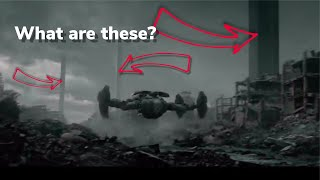 Terminator Dark fate future scene! What are these?