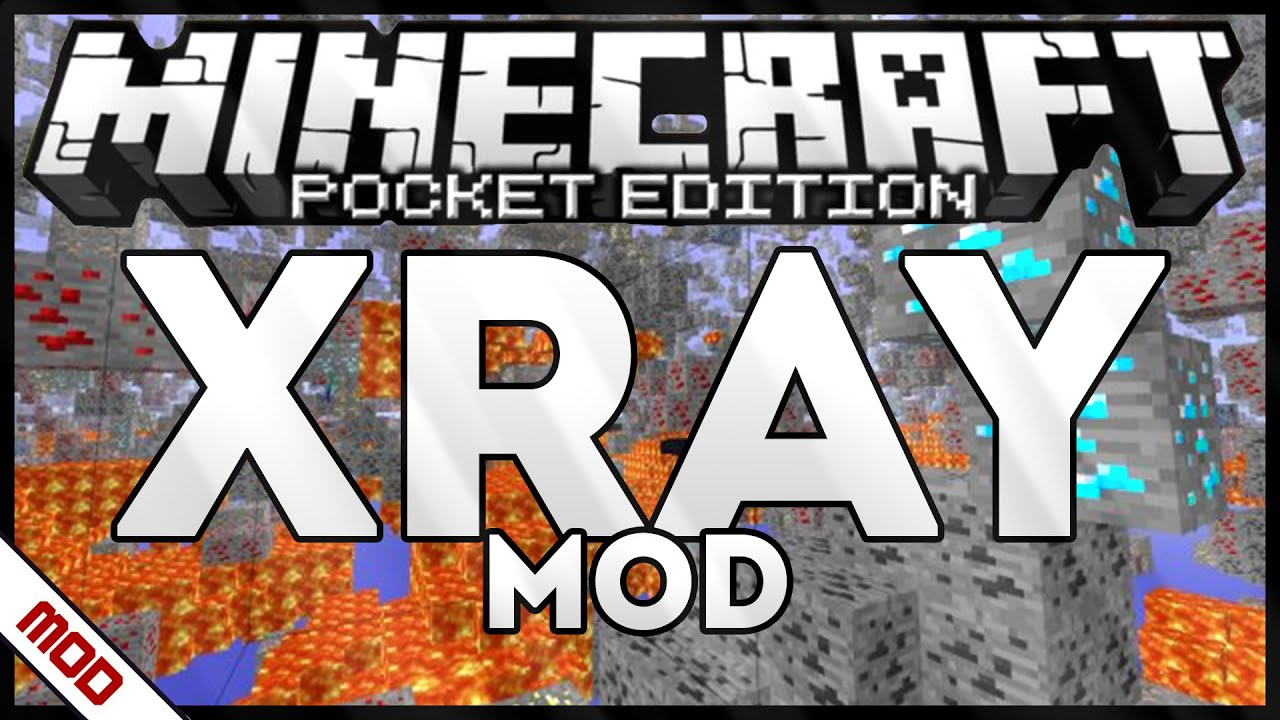 minecraft pe xray mod android download