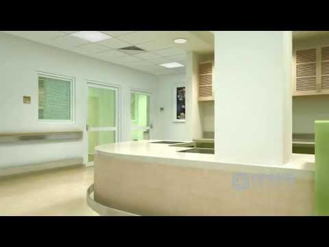 Al Rahba Hospital Interior - Basic 3D Flythrough CGI Tour