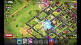 Clash of clans 24 baby dragons lvl 2 vs th11 !