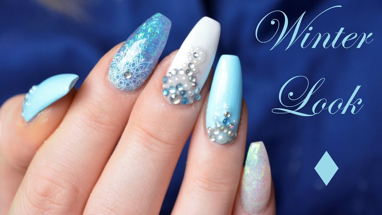 Gelnagel Im Winterlook Danana Youtube