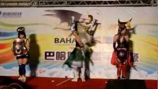 巴哈16週年站聚(2012.12.08) Cosplay大賽團體組女人我最大無雙OROCHI.