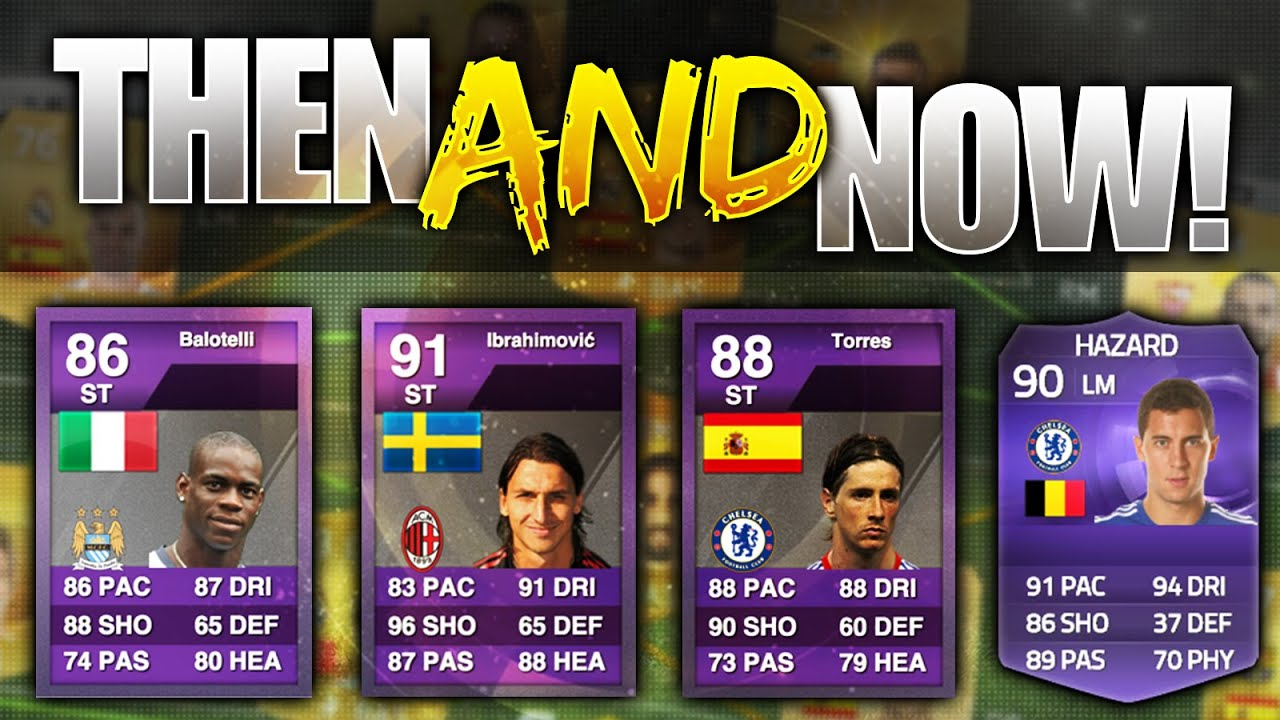 FIFA 15 THEN AND NOW!!! THE BEST PURPLE CARDS IN FIFA HISTORY ...