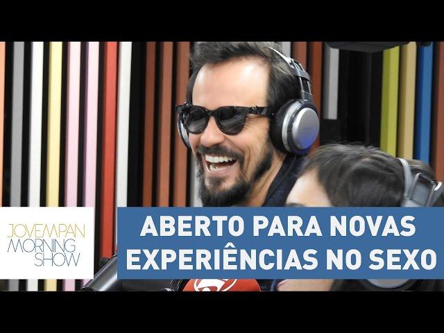 "Paulo Vilhena diz estar aberto para novas experiências no sexo: ""deixo rolar"""
