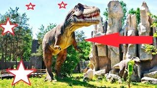 Супер Зоопарк Мира | Краснодарский Сафари - Парк (Динозавры, крокодилы и еще Много Животных и Птиц)