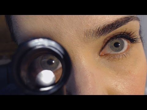 ASMR Roleplay - Allergic Reaction Treatment - Eye, Ears, Throat - Latex, Light
