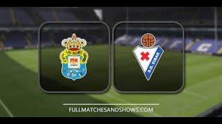Video Gol Pertandingan Eibar vs Las Palmas