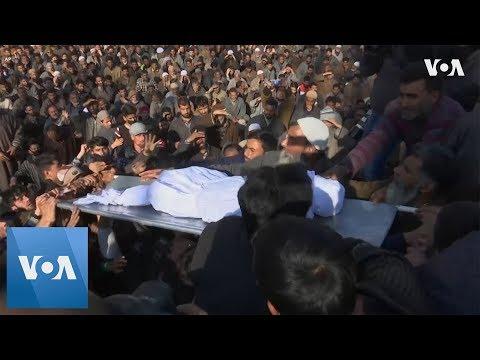 Funeral for Boy Killed in Violence in Kashmir
