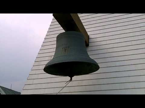 Original Bell, Goat Island Light Station, Cape Porpoise, Maine