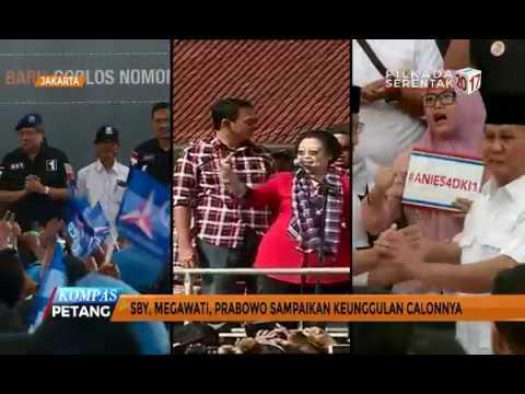 Saat SBY, Megawati, Dan Prabowo Ikut Terjun Di Pilkada DKI