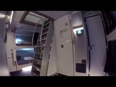 Lufthansa A380, Lower Deck Crew Rest