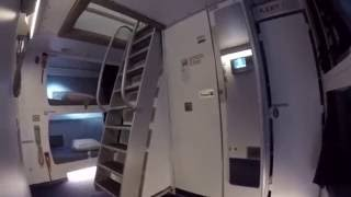 Lufthansa A380, Lower Deck Crew Rest