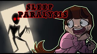 SLEEP PARALYSIS | My Experience (ANIMATION)