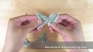 How To Make An Origami Modular Dollar Star - 5 Or 6 Points