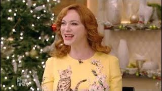 Christina Hendricks Complete Interview on Live with Kelly and Ryan