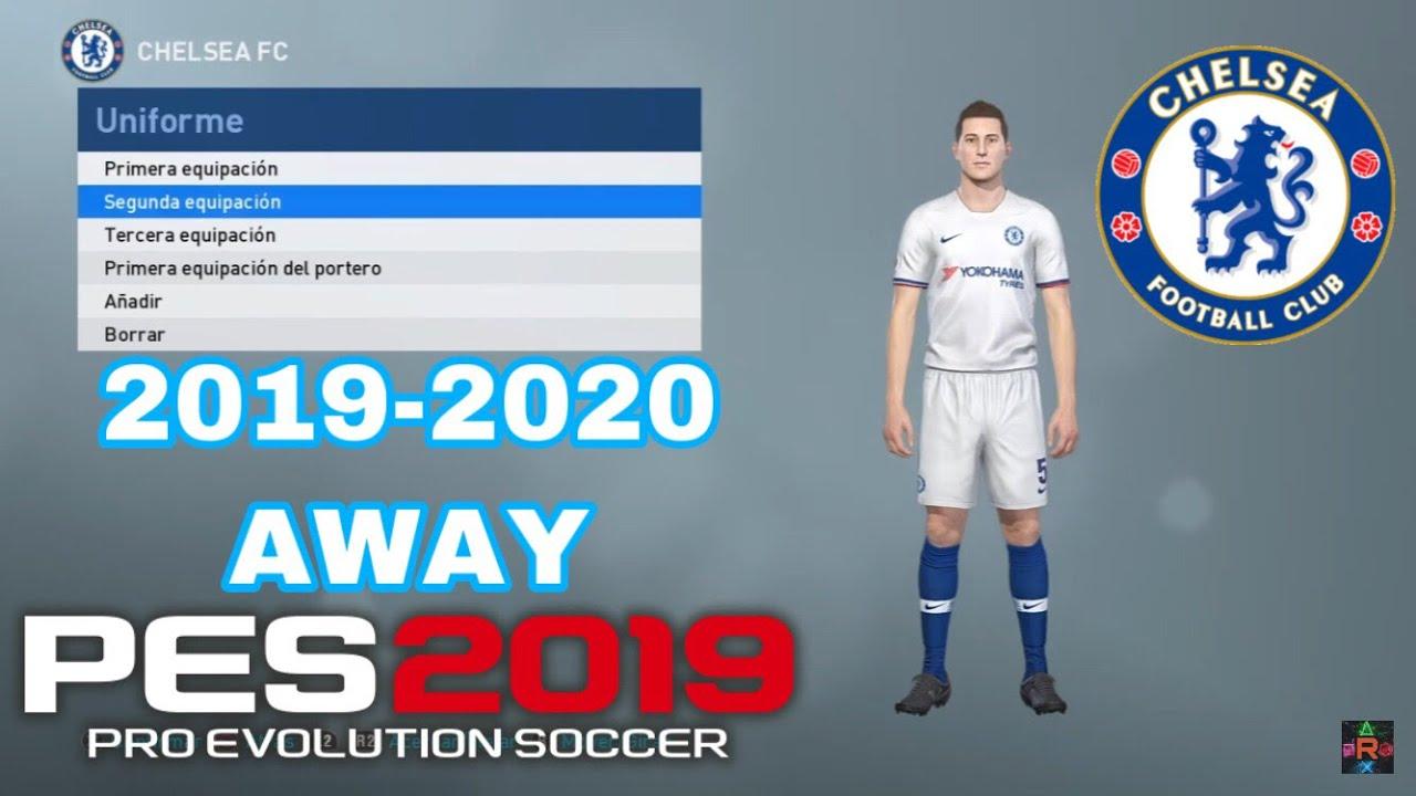 PES 2019 - KIT CHELSEA 2019-2020 AWAY