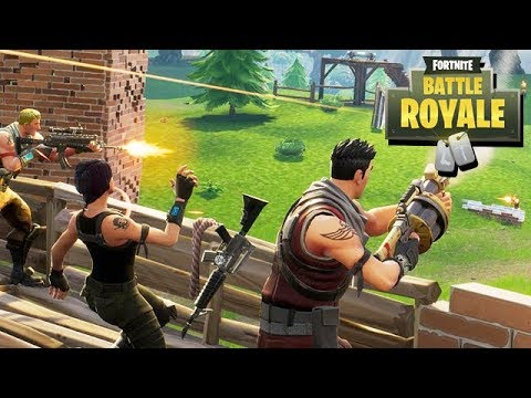 Fortnite Battle Royale Gameplay German - 50 Vs. 50 Der neue Modus