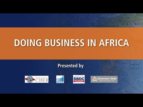Doing Business In Africa: Part 1