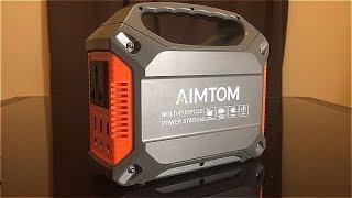 REVIEW: Aimtom Portable Solar Generator -- LEGIT POWER SUPPLY!