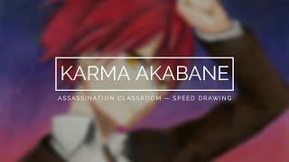 Akabane Karma (Assassination Classroom) — Speed Drawing
