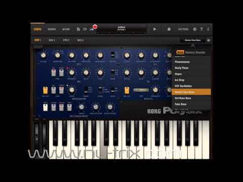 iPolysix Factory sounds demo