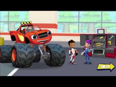 blaze and the monster machines  لعبة بليز و الشاحنة العملاقة