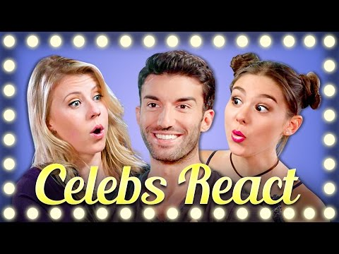 Thumbnail: TRY NOT TO FLINCH CHALLENGE (CELEBS REACT)