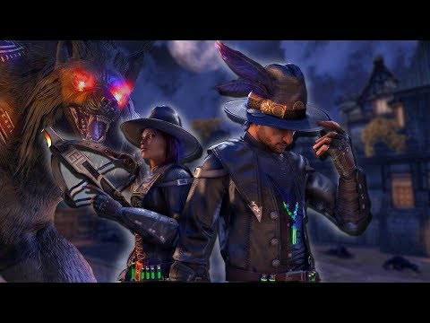 ESO - WEREWOLF HUNTING SEASON (Elder Scrolls Online Moon Hunter Keep Dungeon)