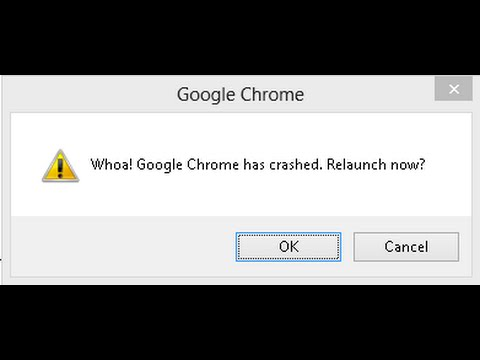 How to fix Whoa! Google Chrome has crashed  Relaunch Now?  with 3 simple steps I Google Chrome FAQs