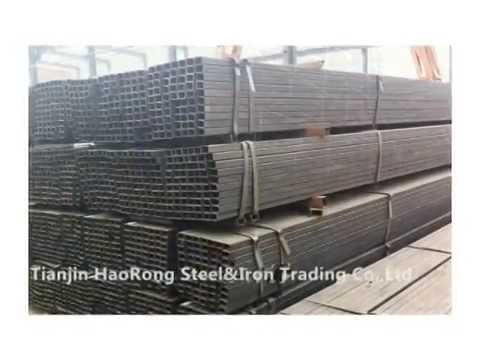 Galvanized Iron Tube Price Black Carbon Square Steel Pipe Manufacturing  Process