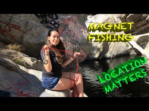 Magnet Fishing Adventures : Real Finds! | Long Beach | Hermit Falls | Debs Pond