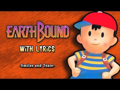 EarthBound - Smiles and Tears with Lyrics [エンディングのテーマ]   Fiddledo