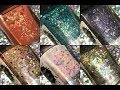 SPLATTERED PAINT LACQUER | SAND, SEA, AND STARS | LIVE SWATCHES