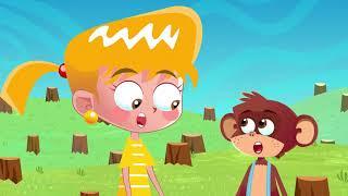 Małpka - Piosenki dla dzieci bajubaju.tv