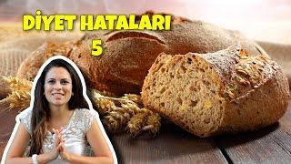 Diyet Hataları 5   Kepek Ekmeği Kilo Aldırır Mı?